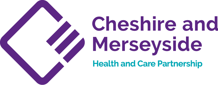Cheshire and Merseyside Health and Care Partnership logo
